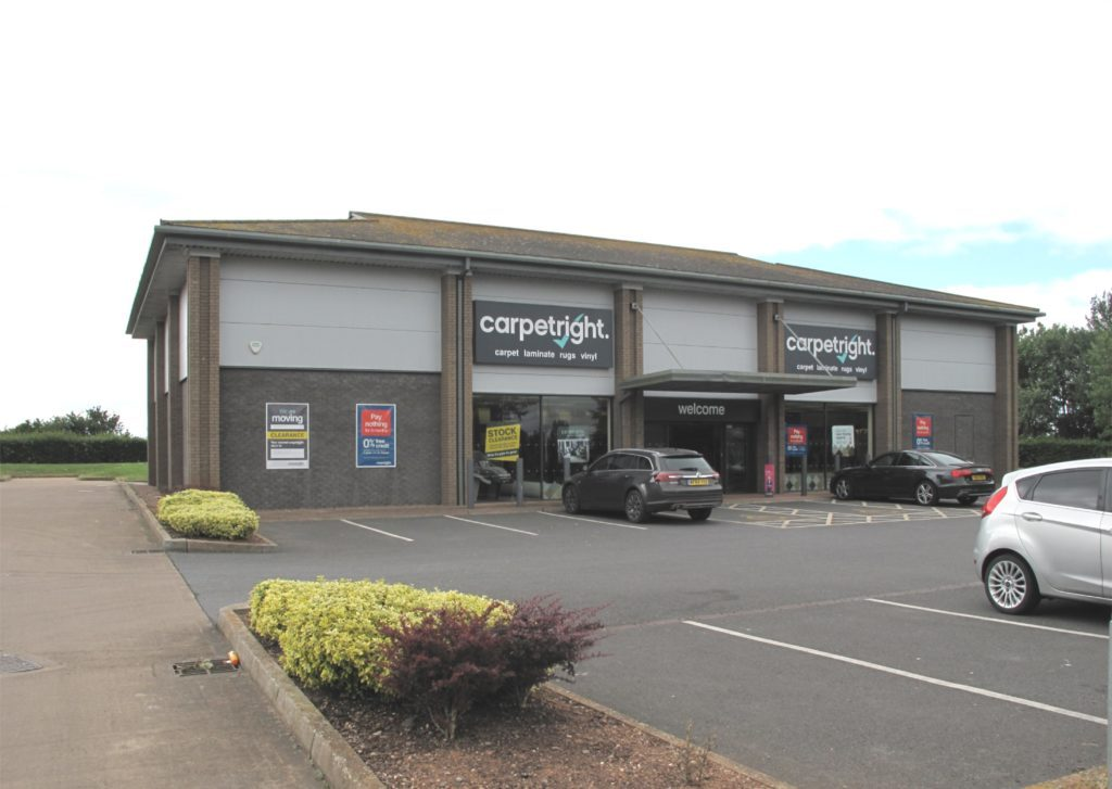 *** NOW LET *** Former Carpetright Unit, Liverton Business Park